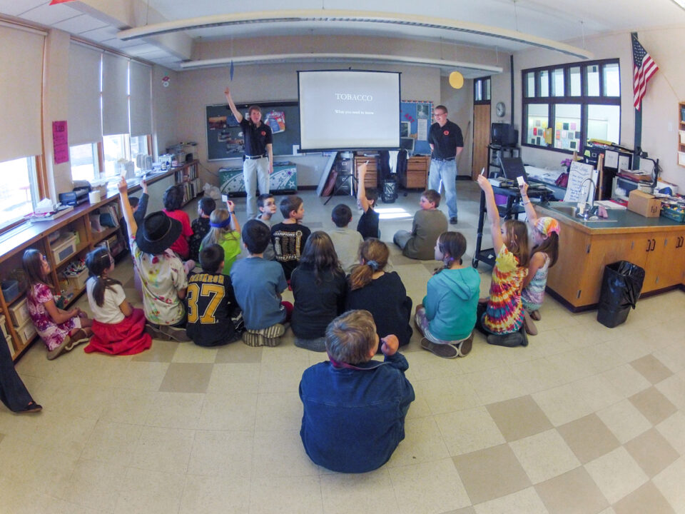 SAFE Training at New Hingham Regional Elementary School