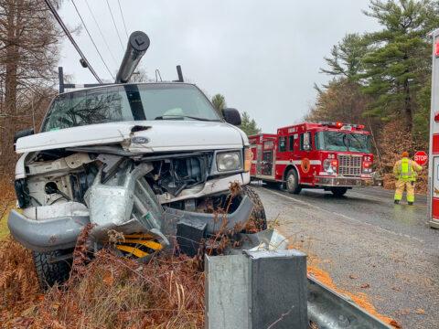 Motor Vehicle Crash - Route 112 (Cape Street)