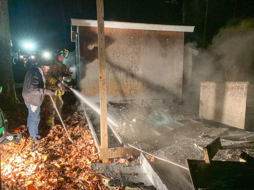 Structure Fire - 10 White Road, Goshen MA