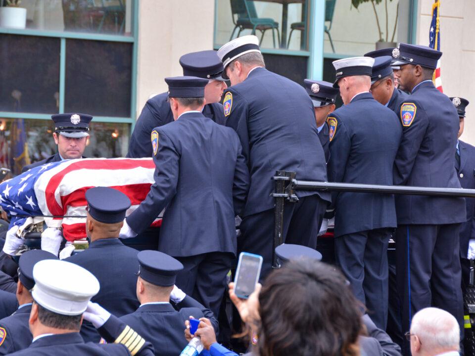 Funeral for Hartford FF Kevin Bell
