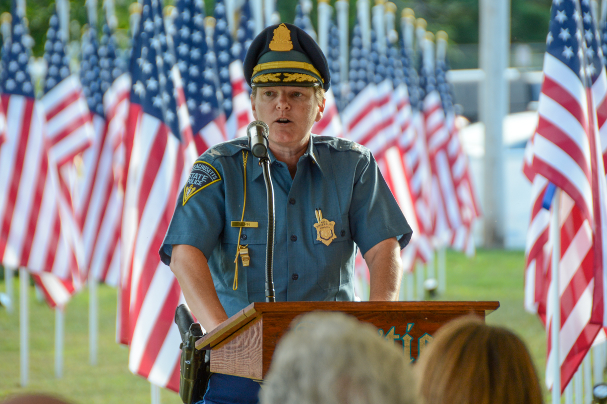 Superintendent of Massachusetts State Police Col. Kerry Gilpin