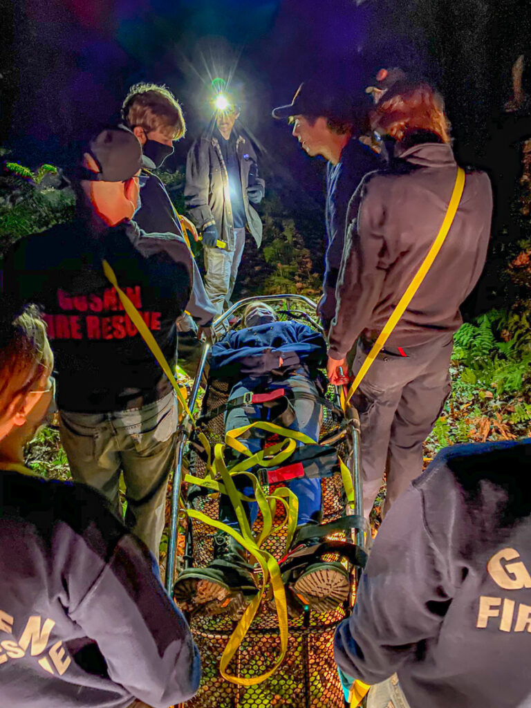 South Loop Trail Rescue Drill