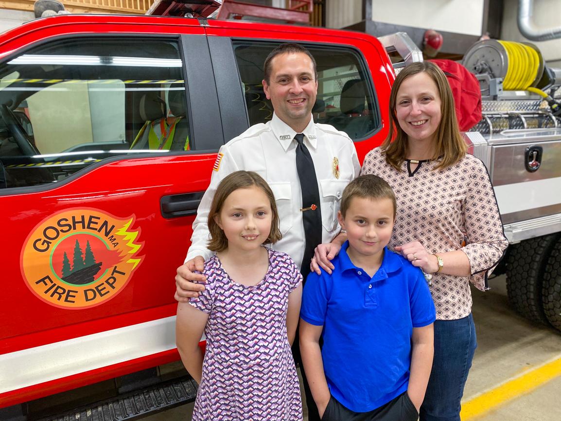 Lt. Steve Estelle & family