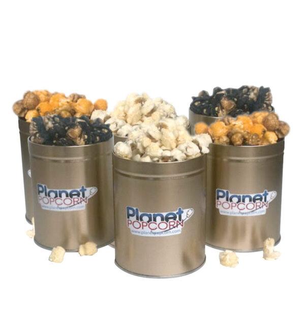 Planet-Popcorn-Mini Tin 6 Pack