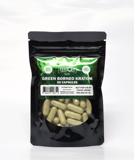 Earth Kratom Green Borneo Capsules Image
