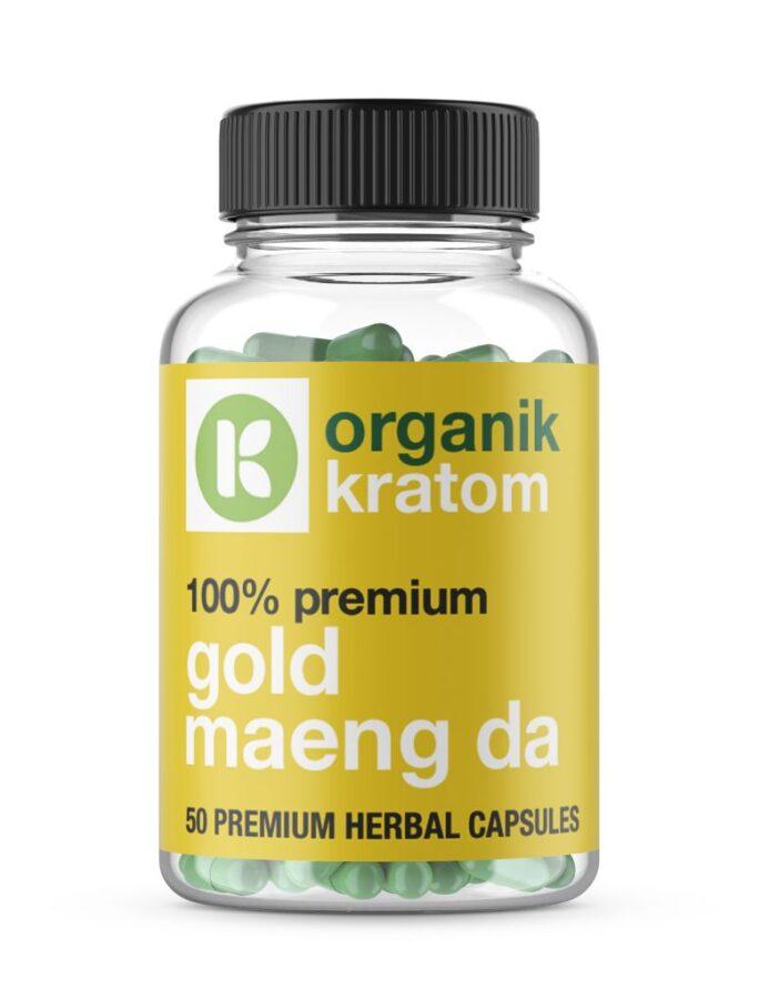 Organik Kratom Gold Maeng Image