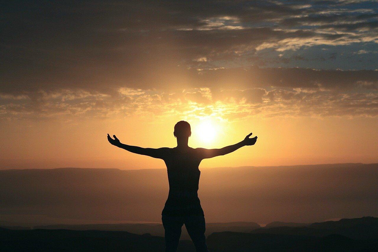 morning, sunrise, woman