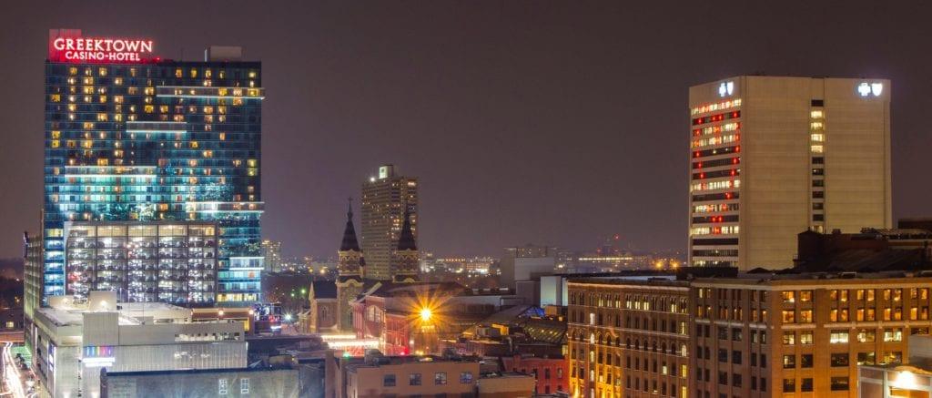 Greektown Casino Detroit Skyline on Michigan Area Casinos