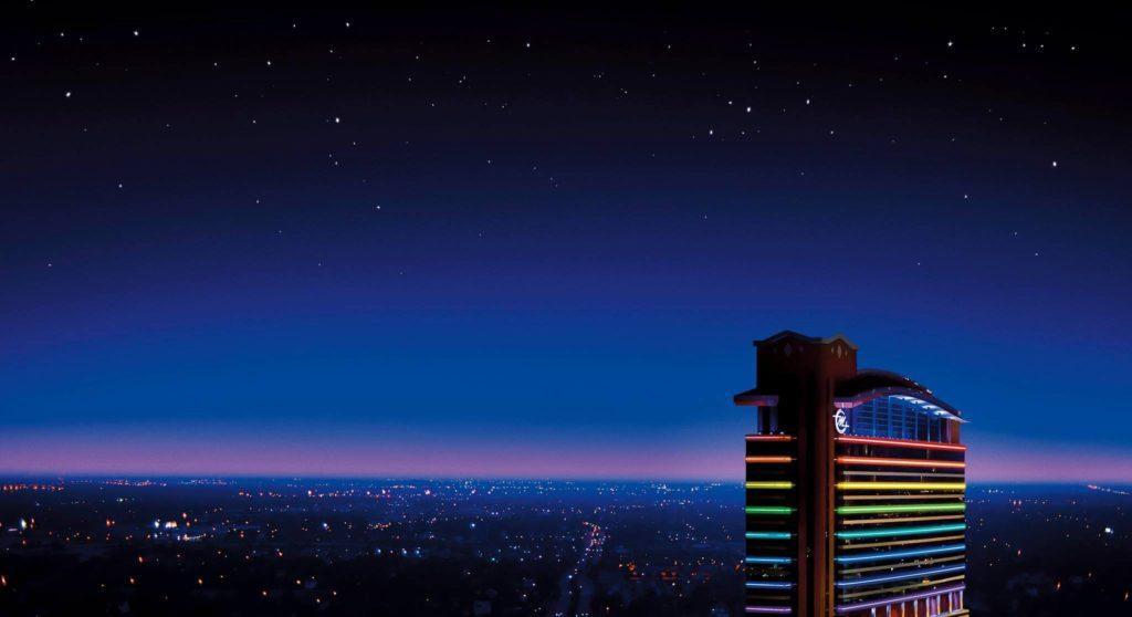 MotorCity Casino Detroit Skyline on Michigan Area Casinos