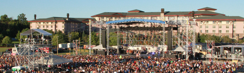 Soaring Eagle Casino and Resort Out Door Concerts in Mount Pleasant on Michigan Area Casinos