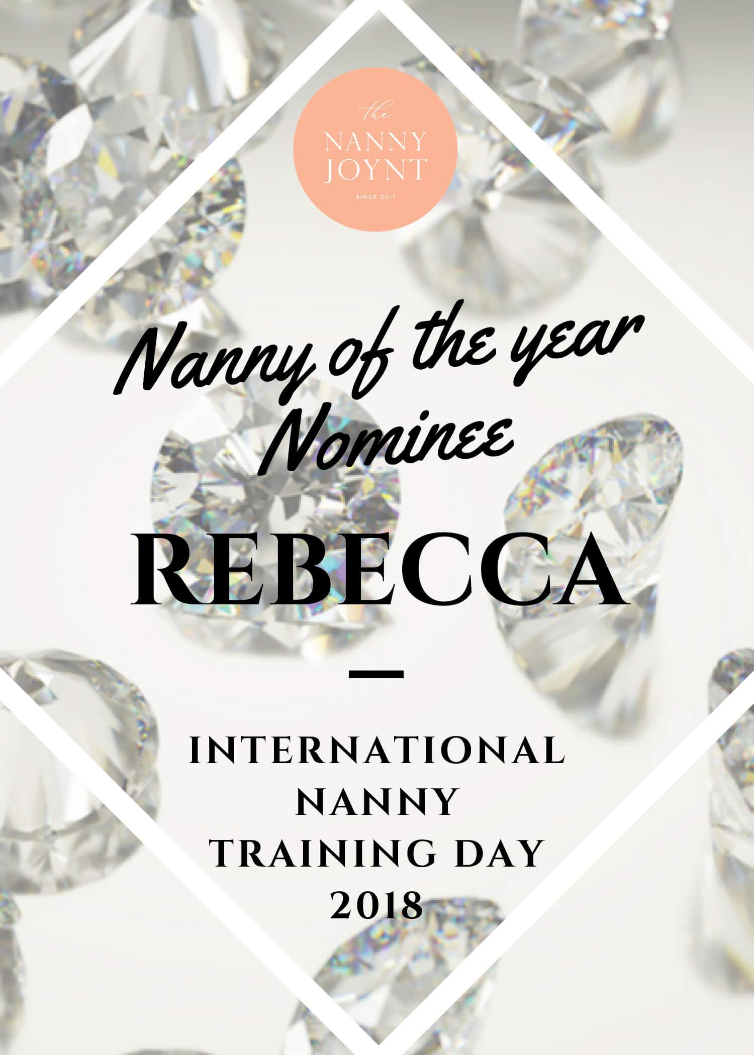 iNNTD Arizona Nanny Of The Year Nominee – Rebecca