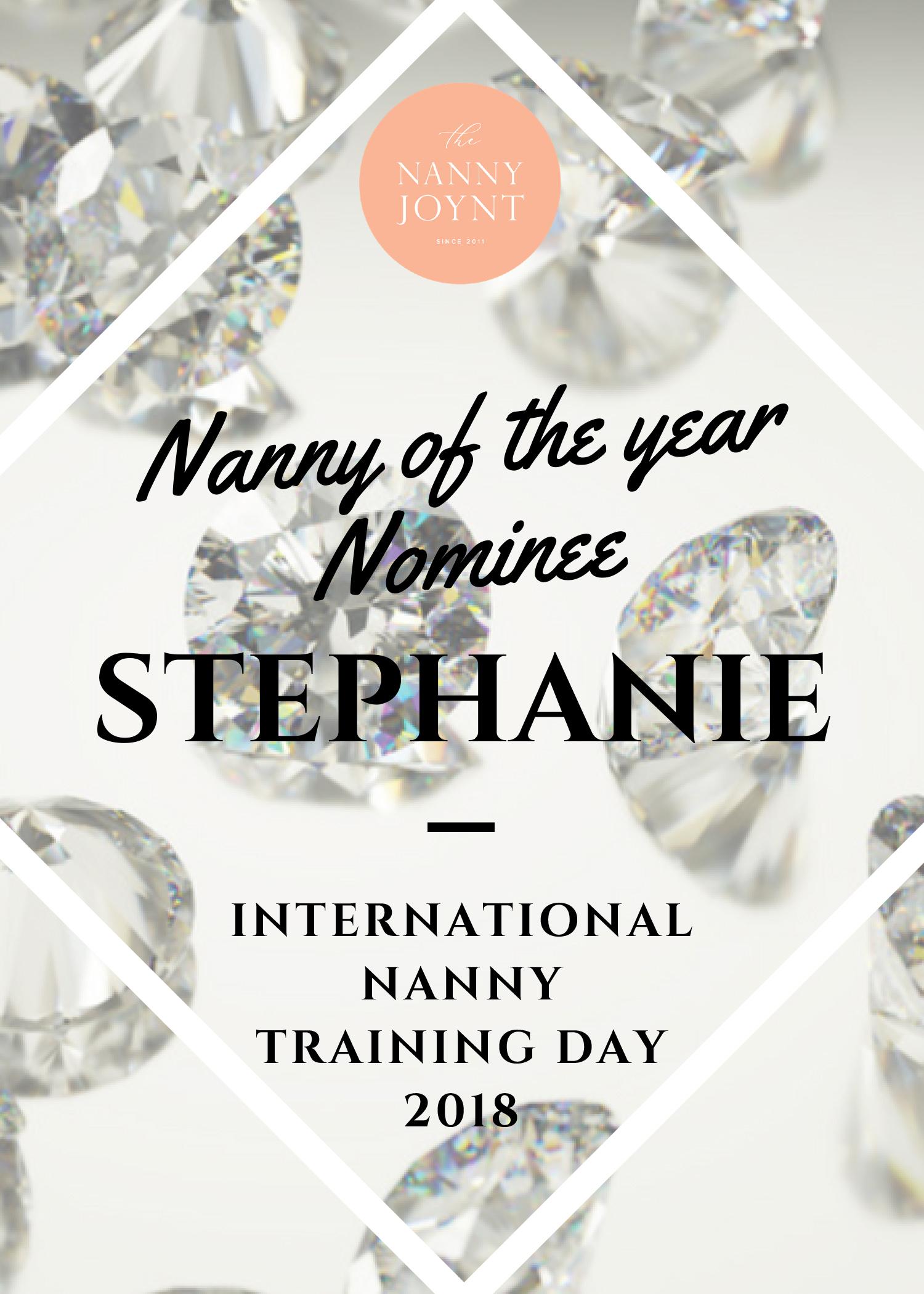 iNNTD Arizona Nanny Of The Year Nominee – Stephanie