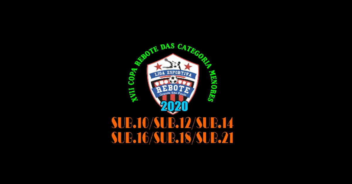 Definidos os grupos da 17ª Copa Rebote de Categoria de Base