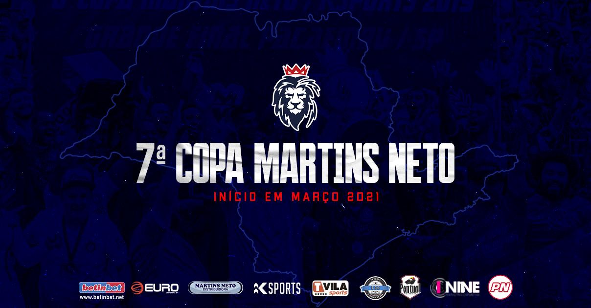 Definidos os grupos da 7ª Copa Martins Neto/KING SPORTS de Futebol Amador