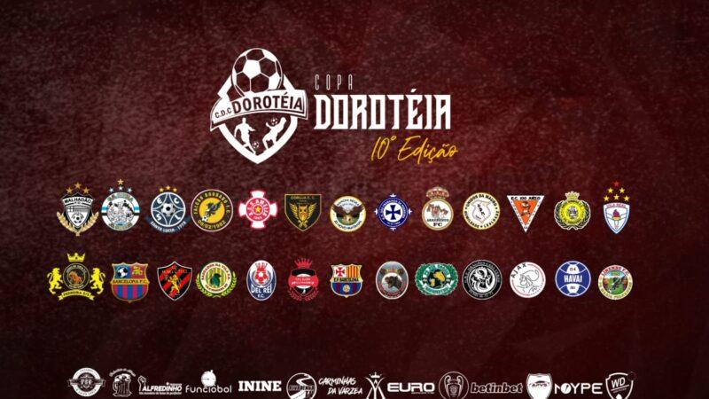 Definidos os grupos da Copa Doroteia 2021
