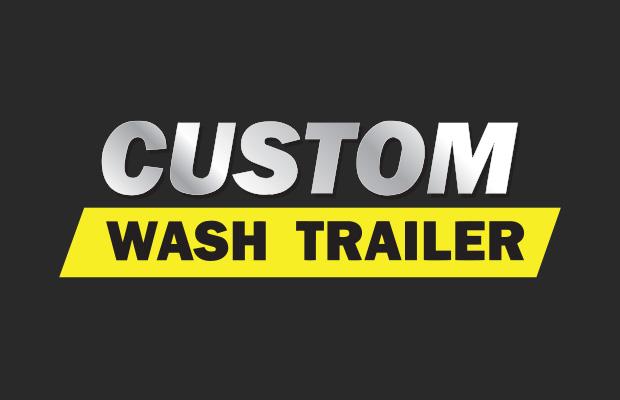 Custom Wash Trailer Banner
