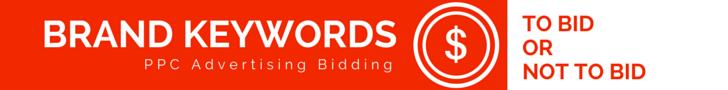 Brand keywords.  Should you bid on them using PPC.