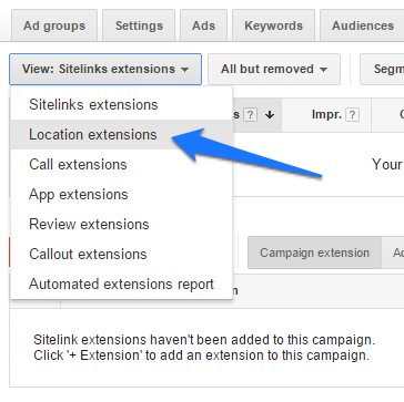 ad extensions step 6