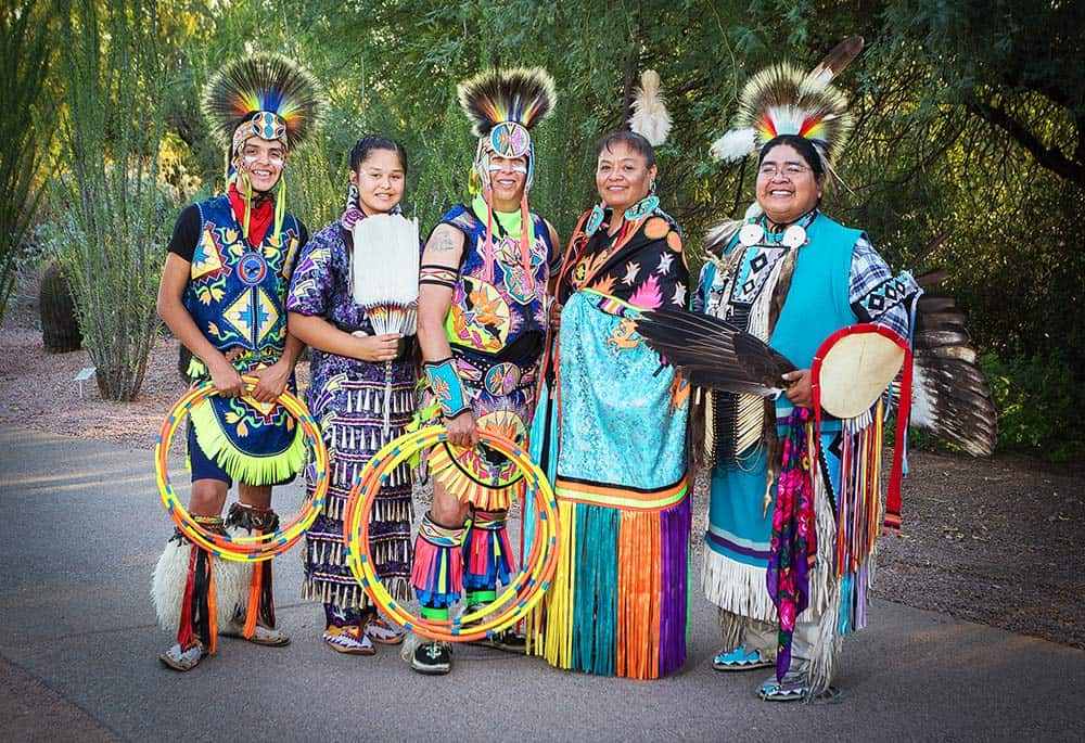 About Native Spirit Productions - Hoop Dancers