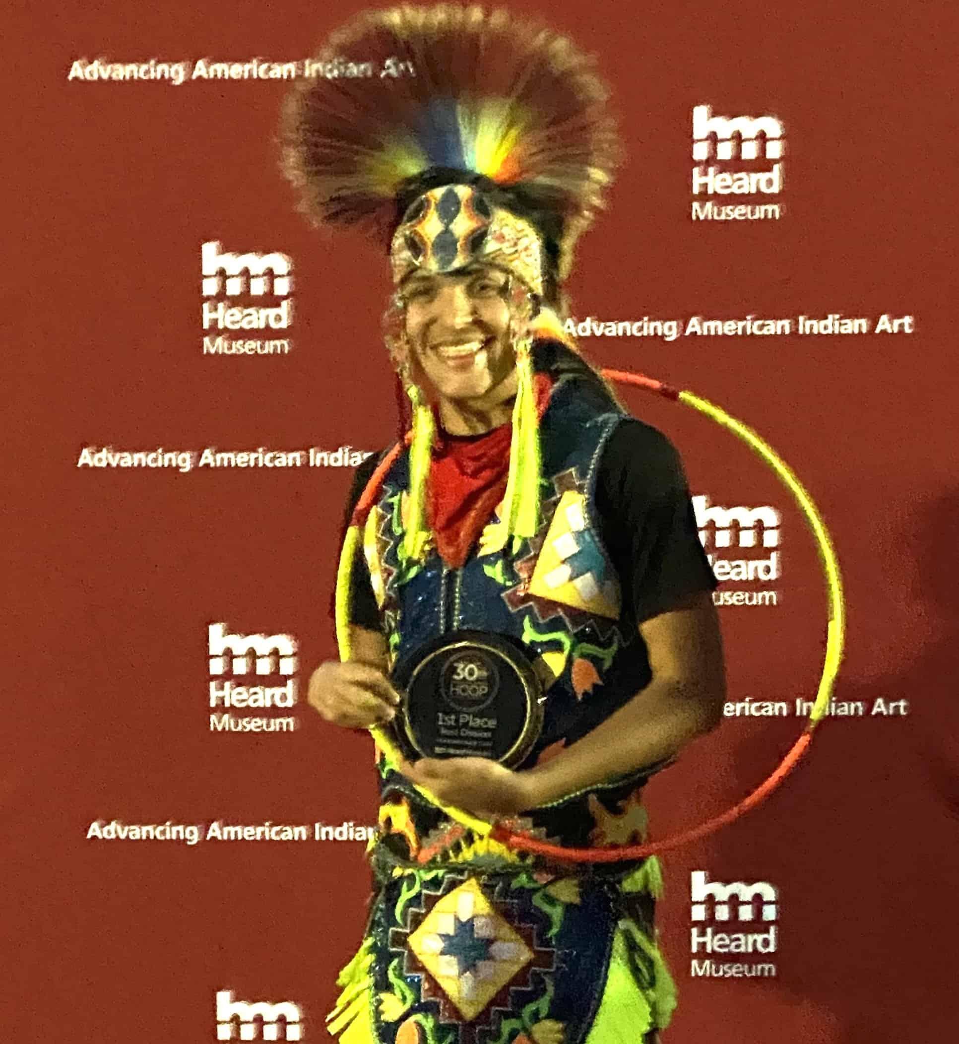 Nedallas Hammill - 2020 World Teen Hoop Dance Champion