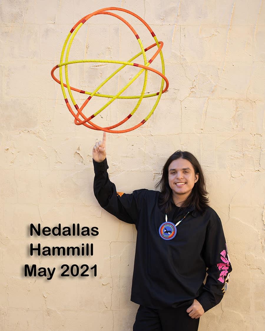Nedallas Hammill Teen World Champion 2021 Senior Portrait