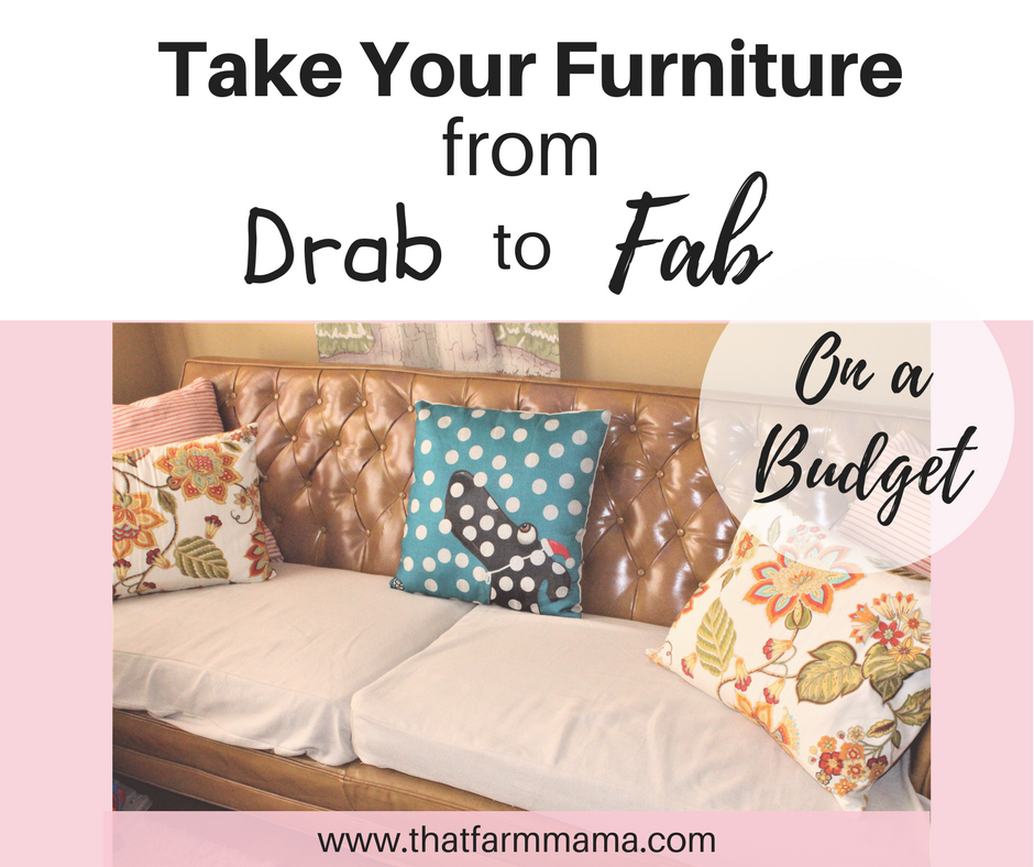 budget friendly furniture facelift