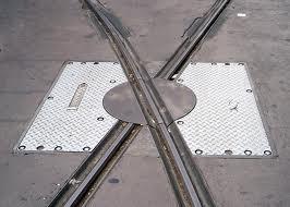 tracks crossing