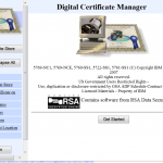 What's the Direct URL for the IBM i Digital Certificate Manager?