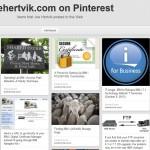 Viewing Joe's Blog on Pinterest