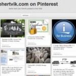 Pinterest: An Alternate Way to View Joehertvik.com Content
