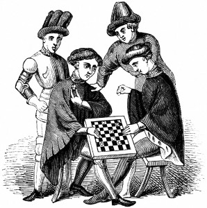 1145--Playing at Draughts from wikipedia