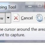 Using the Windows 7 Snipping Tool for Creating Graphics