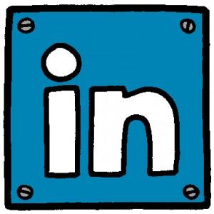 LinkedIn wavy in