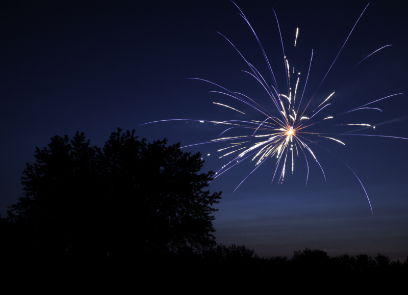 How to shoot fireworks