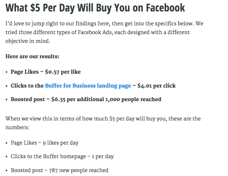 What $5 Buys You on Facebook Ad