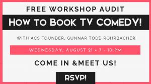 Free Acting Comedy Workshop Audit