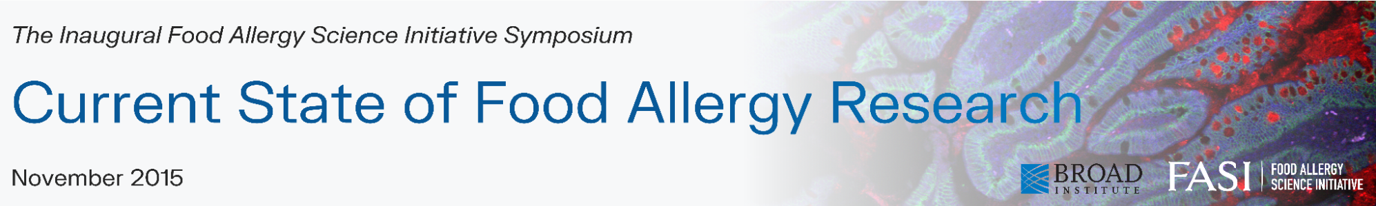 Symposium 2015: Current State of Food Allergy Research