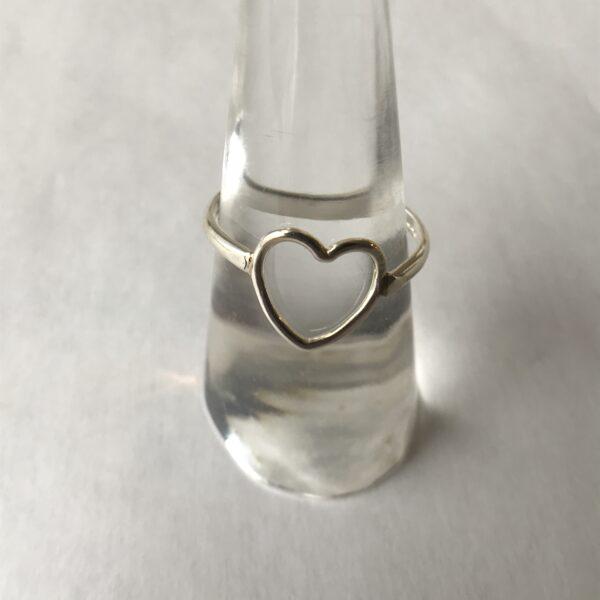 """""""Heart"""" Spirit Ring - Sterling"""