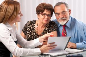 couple meeting lawyer advisor planner