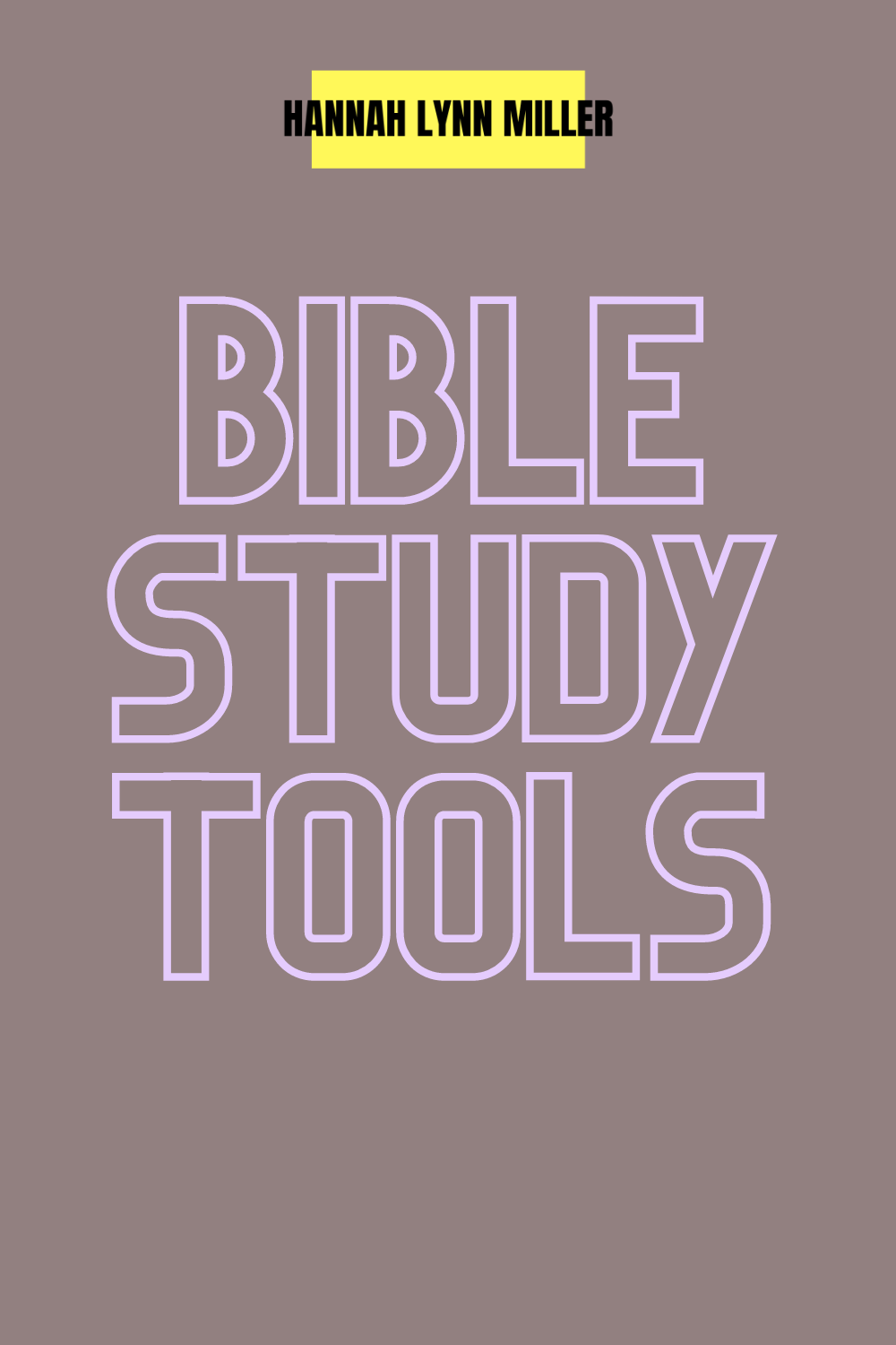 Bible Study Tools & Apps