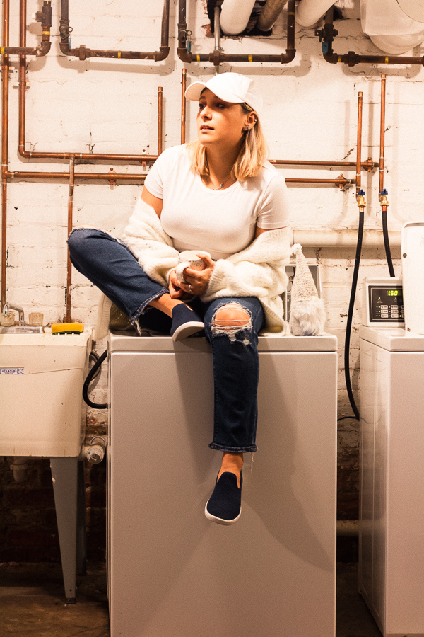 Sustainable Tip: Wash Your Shoes with Allbirds