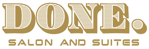 Done Hair Salon Logo
