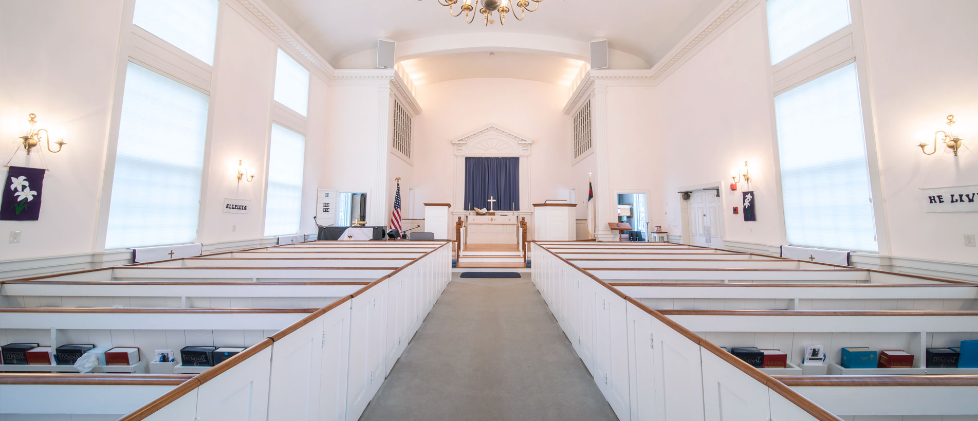 Bakerville Church Sanctuary