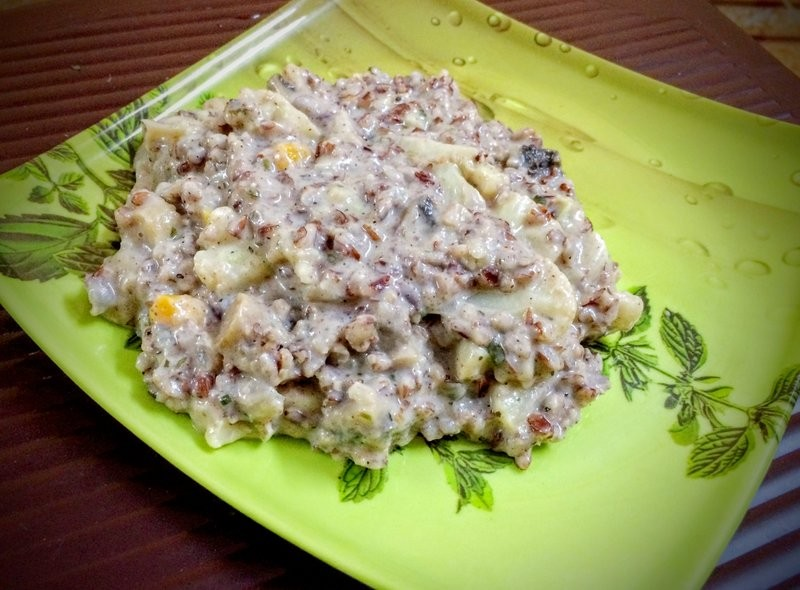 Red rice Vegetable Risotto