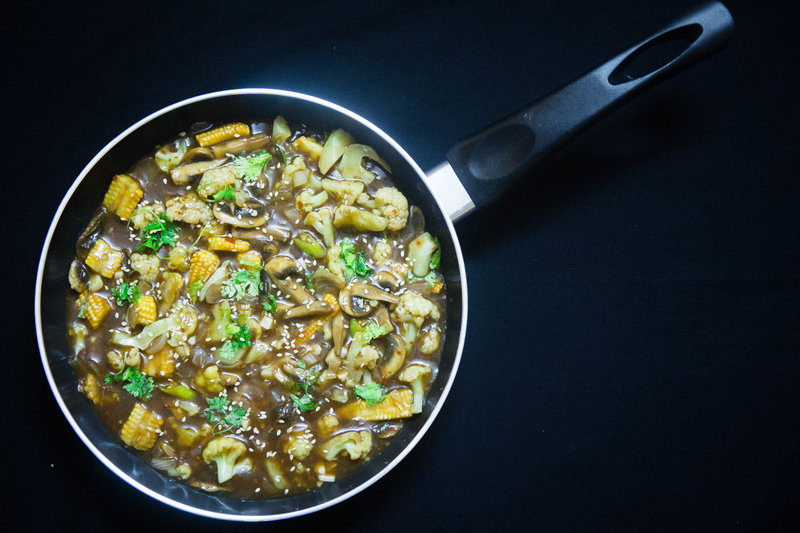 Chinese Vegetable Garlic Sauce