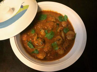 Punjabi Soya Chunks Gravy