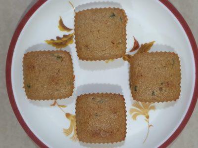 Eggless Semolina Muffin | Healthy Sooji cupcake