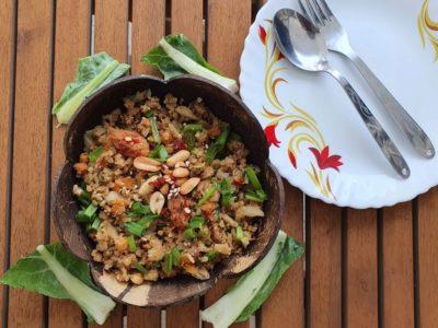 Chinese Cauliflower rice- Fried rice without rice