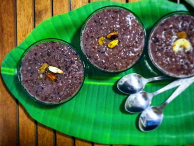 Kavuni rice Pongal