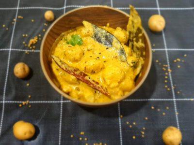 Vegan Potato Mustard Curry